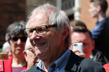 Ken Loach Jeremy Corbyn on the Election Campaign Trail in Worcester and Leamington Spa