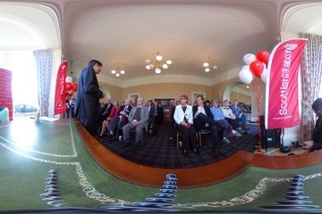 Ken Macintosh Alastair Campbell Helps Labour MSP To Launch His Re-Election Bid