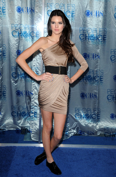 Kendall Jenner TV personality Kendall Jenner arrives at the 2011 People's Choice Awards at Nokia Theatre L.A. Live on January 5, 2011 in Los Angeles, California.