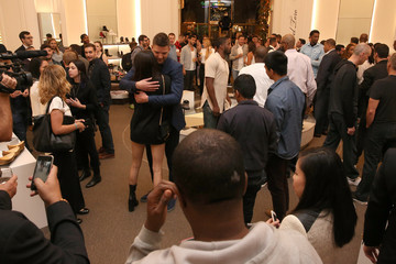 Kendell Jenner Saks Fifth Ave Presents Del Toro Chandler Parsons Event