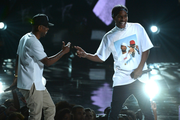Kendrick Lamar and ASAP Rocky Photos Photos - Inside the ...