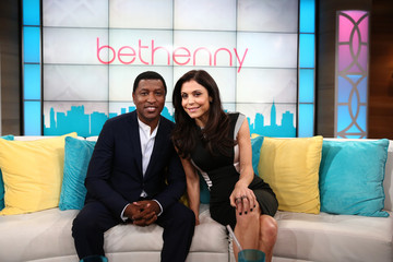 Kenneth Edmonds Bethenny Frankel Films Her Talk Show