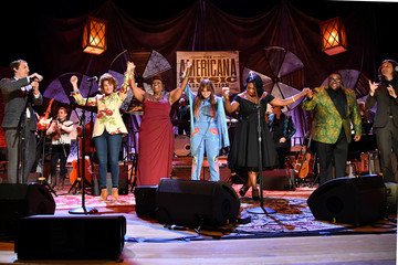 Kenneth Pattengale Courtney Marie Andrews 2018 Americana Music Honors And Awards - Inside