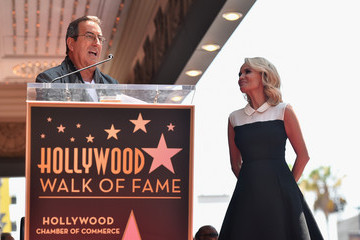 Kenny Ortega Kristin Chenoweth Honored With Star on the Hollywood Walk of Fame