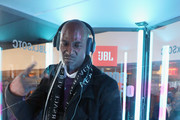 Kevin Garnett checks out the JBL x Sounds of The City Booth and JBL?s latest LIVE headphones while attending the 9th annual Kenny Smith All-Star Bash presented by JBL on February 15, 2019 in Charlotte, North Carolina.