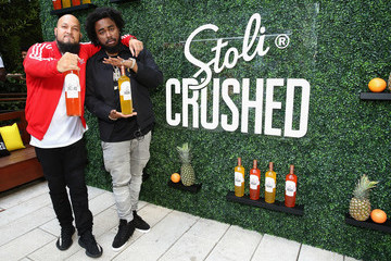 Kent Jones Stoli Crushed Launch Party at the Beach at Dream Downtown in NYC