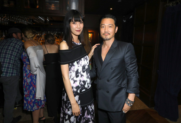 Premiere Of Breaking Glass Pictures' 'She's Just A Shadow' - After Party [breaking glass pictures,shes just a shadow,fashion,event,fashion design,fun,suit,formal wear,haute couture,night,little black dress,ceremony,actors,tao okamoto,r,kentez asaka,the spare room,party,premiere,premiere]