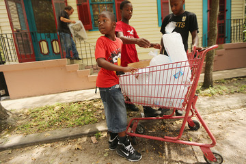 Keon Williams US Gulf Coast Copes With Aftermath Of Hurricane Isaac