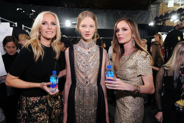 Keren Craig The Marchesa Fall/Winter 2016 Fashion Show Co-Hosted by FIJI Water