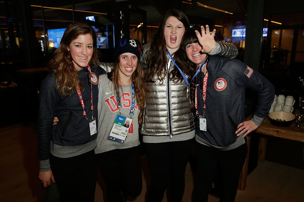 US Olympians Visit USA House []