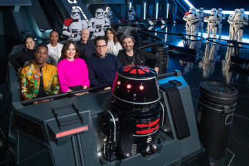 "Keri Russel The Cast of ""Star Wars: The Rise of Skywalker"" Previews New Disney Parks Star Wars Attraction"