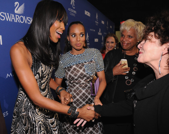 Kerry Washington Naomi Campbell, Kerry Washington and costume designer Lyn Paolo attend the 18th Annual Accessories Council ACE Awards At Cipriani 42nd Street at Cipriani 42nd Street on November 3, 2014 in New York City.