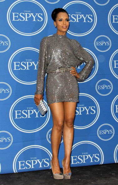 Kerry Washington Actress Kerry Washington poses in the press room at The 2011 ESPY Awards at Nokia Theatre L.A. Live on July 13, 2011 in Los Angeles, California.