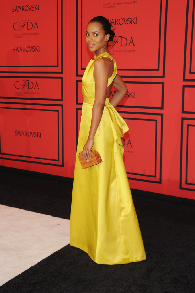 Kerry Washington - Arrivals at the CFDA Fashion Awards