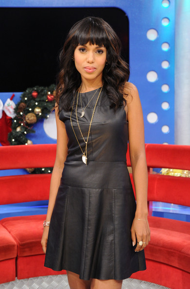 "Kerry Washington - The Cast Of ""Django Unchained"" Visits BET's ""106 & Park"""