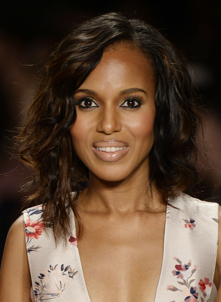 Kerry Washington - MBFW: Project Runway Show