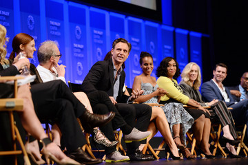 Kerry Washington Scott Foley The Paley Center for Media's 33rd Annual PaleyFest Los Angeles - 'Scandal' - Inside