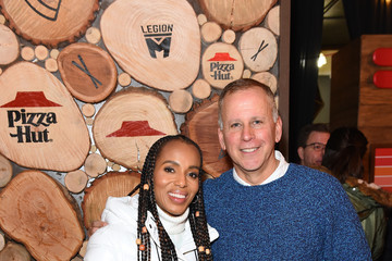 Kerry Washington Scott Orlin Pizza Hut x Legion M Lounge Park City, Utah