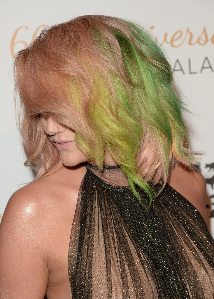 This Might Be The Coolest Color Kesha's Hair Has Ever Been