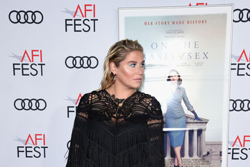 Kesha AFI FEST 2018 Presented By Audi - Opening Night World Premiere Gala Screening Of 'On The Basis Of Sex' - Arrivals