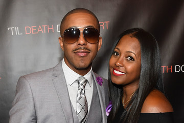 Keshia Knight Pulliam 'Til Death Do Us Part' Atlanta Red Carpet Screening and Q&A with Marques Houston and Annie Ilonzeh
