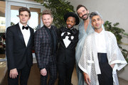Antoni Porowski, Bobby Berk, Todrick Hall, Jonathan Van Ness and Tan France attend the 30th Annual GLAAD Media Awards Los Angeles, in partnership with longstanding LGBTQ ally, Ketel One Family-Made Vodka at The Beverly Hilton Hotel on March 28, 2019 in Beverly Hills, California.