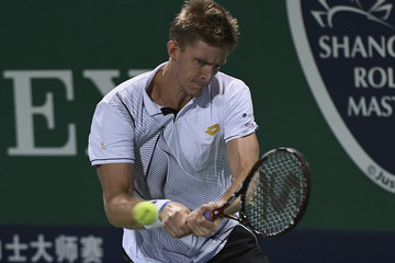 Kevin Anderson ATP Shanghai Rolex Masters 2016 - Day 3