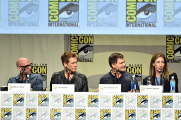 Kevin Bacon Marcos Siega 'The Following' Panel at Comic-Con
