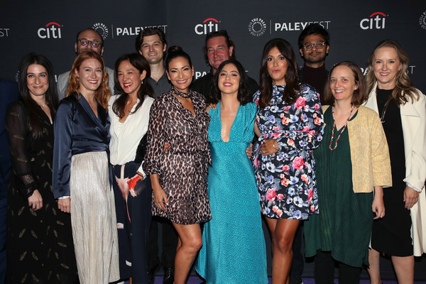 The Paley Center For Media's 2019 PaleyFest Fall TV Previews - Amazon - Arrivals [paleyfest fall tv previews,event,fashion,fashion design,premiere,party,style,performance,arrivals,guests,angelique cabral,kevin bigley,raphael bob-waksberg,kate purdy,hisko hulsing,paley center for media,amazon]