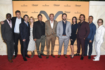 Kevin Costner Paramount Network's 'Yellowstone' Season 2 Premiere Party At Lombardi House