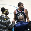 Kevin Durant Celebrities Attend The 68th NBA All-Star Game - Inside