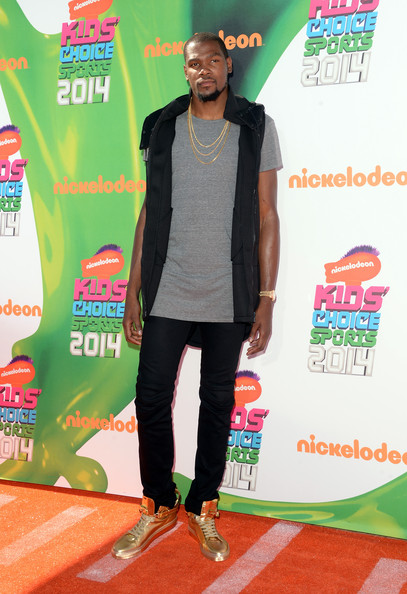 Arrivals at the Nickelodeon Kids' Choice Sports Awards