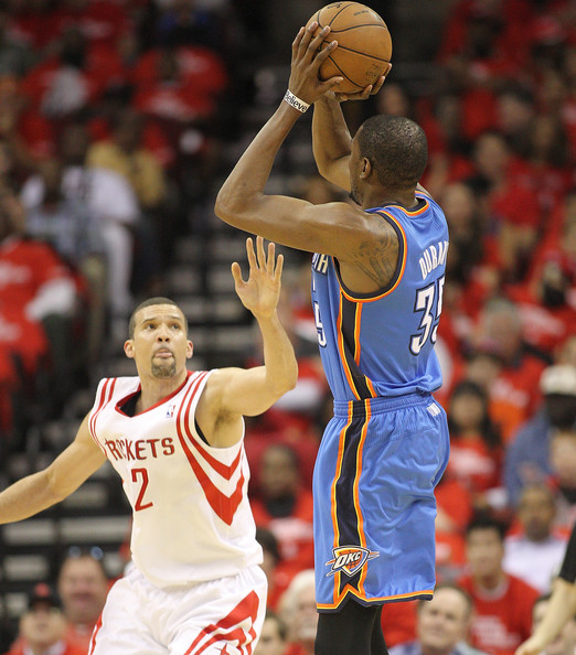 Houston Rockets Vs Okc: Kevin Durant Photos Photos