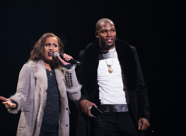 Kevin Durant and Skylar Diggins Photos Photos - 1st Annual ...
