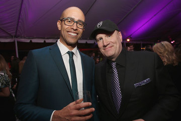 Kevin Feige Nate Moore The Los Angeles World Premiere of Marvel Studios' 'Black Panther'