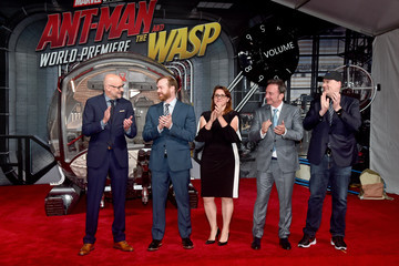 Kevin Feige Stephen Broussard Los Angeles Global Premiere For Marvel Studios' Ant-Man And The Wasp""