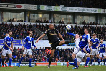 Kevin Foley Ipswich Town v Nottingham Forest - Sky Bet Championship