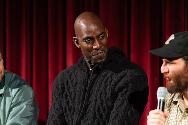 The Academy Of Motion Picture Arts And Sciences Screening Of 'UNCUT GEMS' [the academy of motion picture arts sciences hosts an official academy screening of uncut gems,event,facial hair,performance,beard,kevin garnett,moma - celeste bartos theater,new york city,academy of motion picture arts sciences hosts an official academy screening of uncut gems]
