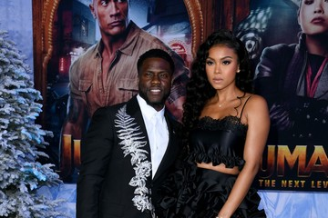 """Kevin Hart Eniko Parrish Premiere Of Sony Pictures' """"Jumanji: The Next Level"""" - Arrivals"""