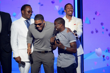Kevin Hart Nick Cannon Inside the BET Awards