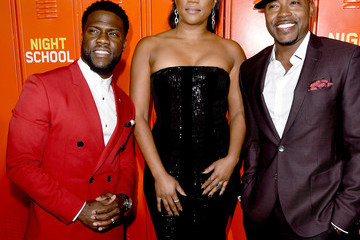 """Kevin Hart Will Packer Premiere Of Universal Pictures' """"Night School"""" - Red Carpet"""
