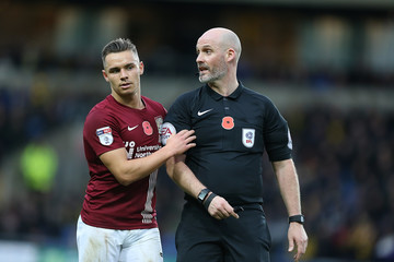 Kevin Johnson Oxford United v Northampton Town - Sky Bet League One