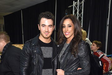 Kevin Jonas Backstage at Z100's Jingle Ball