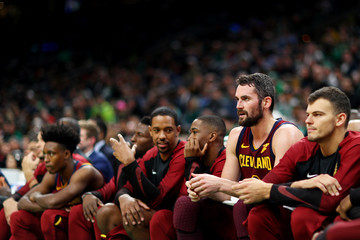 Kevin Love Cleveland Cavaliers v Boston Celtics