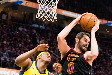 Kevin Love Indiana Pacers vs. Cleveland Cavaliers - Game Two
