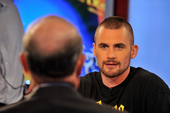 Kevin Love Visits FOX Business