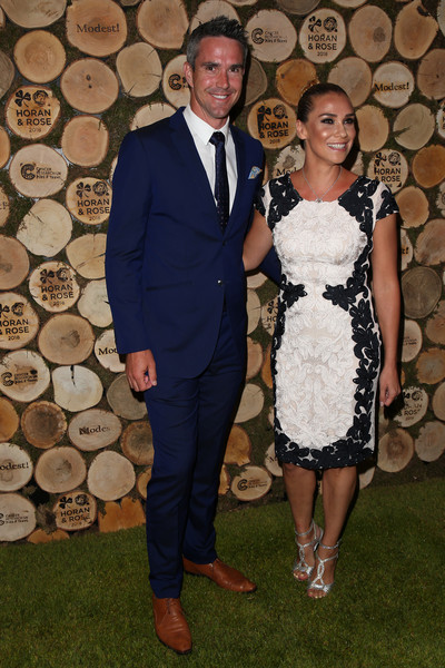 Horan And Rose Charity Event - Arrivals [suit,formal wear,fashion,event,dress,tuxedo,fun,fashion design,smile,flooring,arrivals,kevin pietersen,jessica taylor,england,watford,the grove,horan and rose charity event]