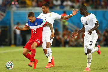 Kevin-Prince Boateng Ghana v USA: Group G