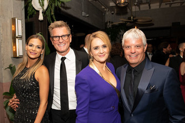 Kevin Reilly David Levy TNT And TBS Emmy After-Party 2018