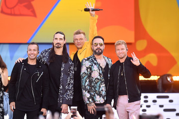 Kevin Richardson Backstreet Boys Perform On ABC's 'Good Morning America'